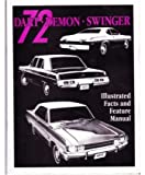 1972 DODGE DART DEMON Facts Features Sales Brochure