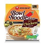 Nongshim Spicy Chicken Bowl Noodle Soup (3.03 oz., 24 count)