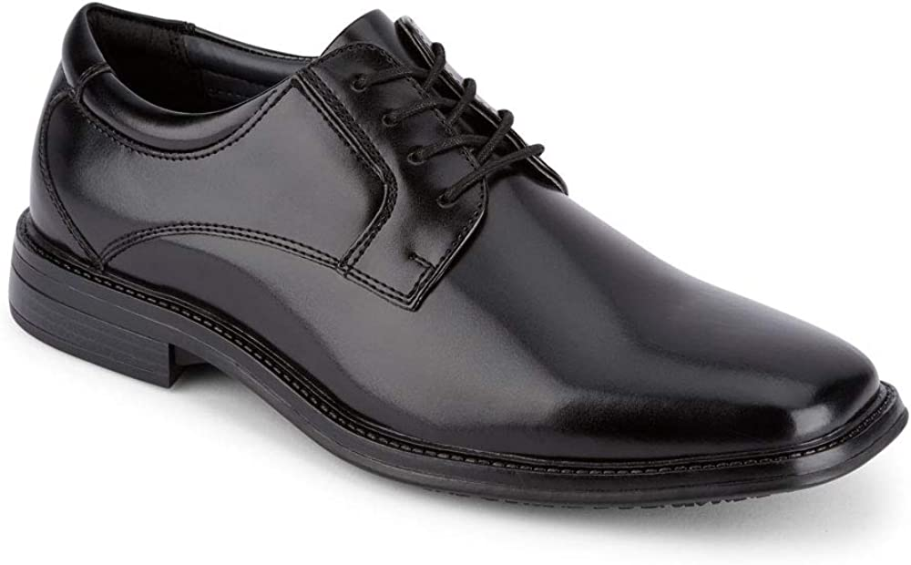 Dockers Mens Irving Slip Resistant Work Dress Oxford Shoe