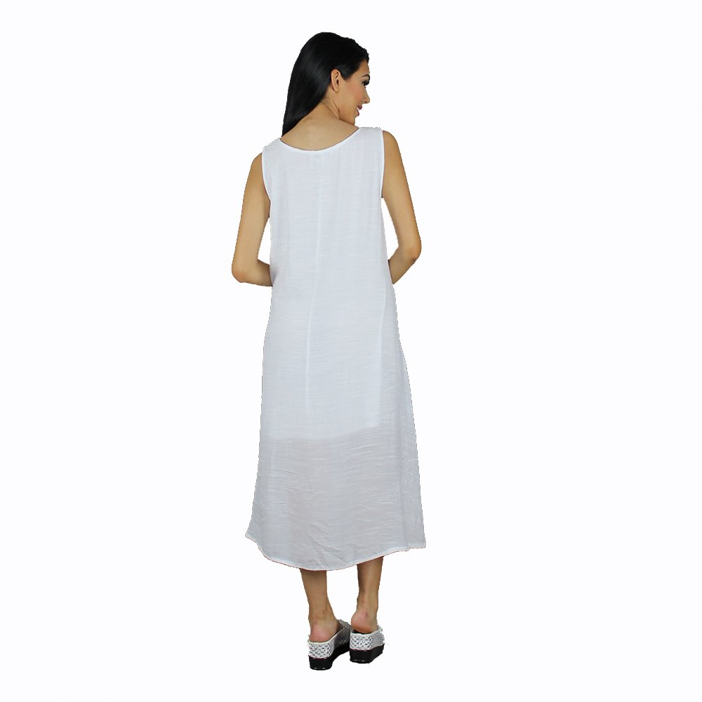 Rayon Bamboo Weave Fabric Spring//Summer Dress