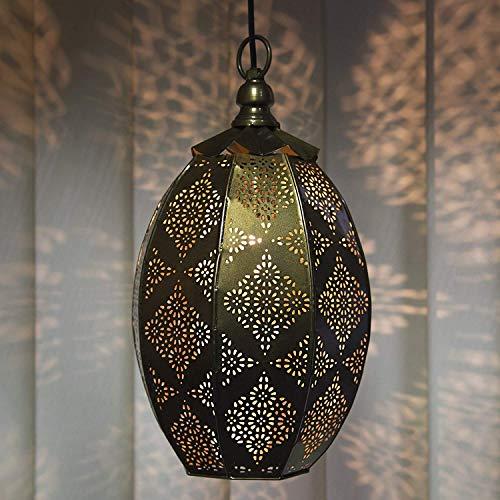 Moroccan Copper Pendant Light in US - 9