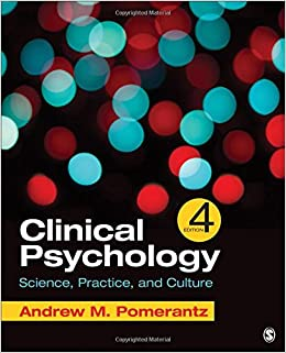 Clinical psychology science practice and culture andrew clinical psychology science practice and culture andrew pomerantz 9781506333748 clinical psychology amazon canada fandeluxe Choice Image