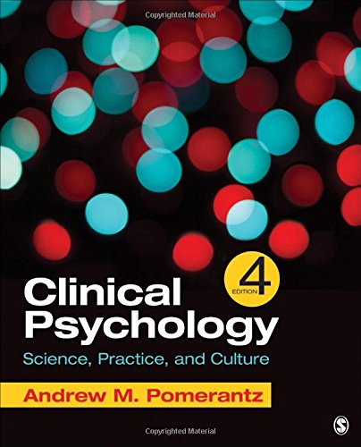 Clinical Psychology: Science, Practice, and Culture, 4th Edition Front Cover