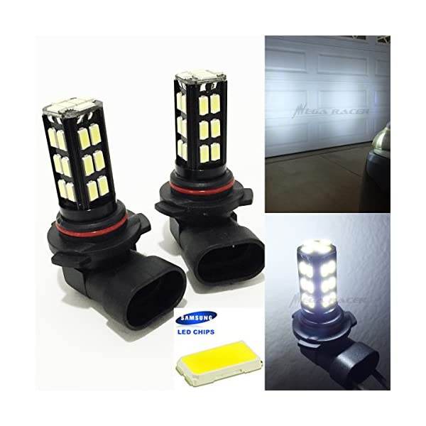 9006 HB4 Low Beam Headlight Super White 6000K Bright Chip 30 LED Xenon Lamp Light Bulb Replace Stock OEM Auto Car USA