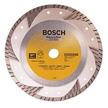 Bosch DB963 Premium Plus 9-Inch Dry Cutting Turbo Continuous Rim Diamond Saw Blade with 7/8-Inch Arbor for Masonry