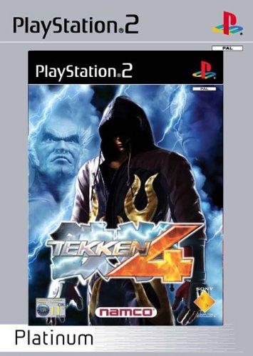 Amazon Com Tekken 4 Platinum Ps2 Video Games