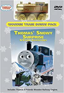 Thomas & Friends: Thomas Snowy Surprise & Other Adventures (Wooden Train Bonus Pack)