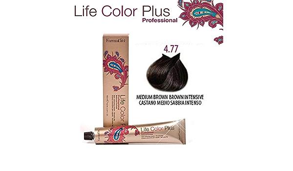 FarmaVita Life Color Plus Tinte Capilar 4.77-100 ml: Amazon ...