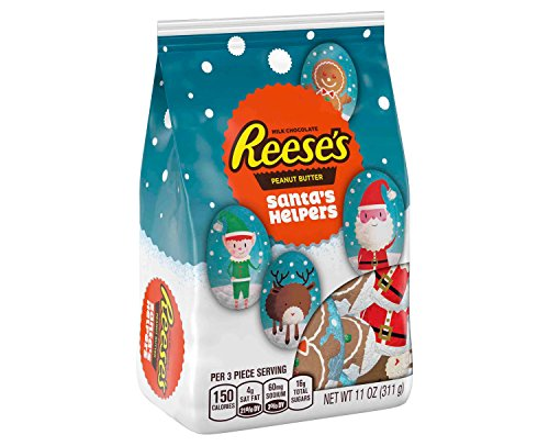 Reese's Holiday Peanut Butter Cups Santa's Helpers - 11oz