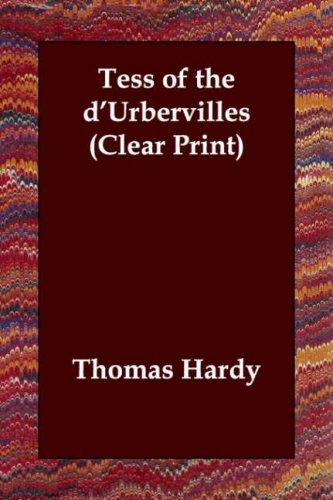 Tess of the d'Urbervilles (Clear Print) PDF