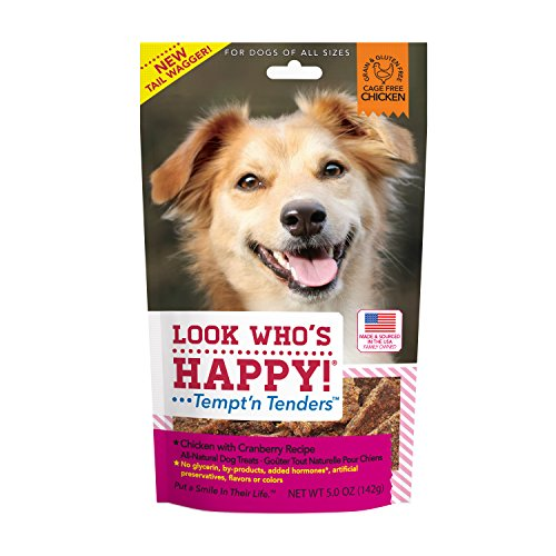 Look Who'S Happy Dog Treats 5 Oz 1 Pouch Chicken And Cranberry Treat, One Size Review