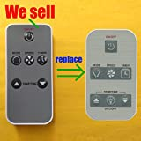 Replacement for Amana Air Conditioner Remote Control 0010403163 works for ACD125R ACD155E ACE156E ACE185E ACE185R ACEX186E ACE245E ACE245R ACW086R ACW106R ACW106V ACW126R ACW126V