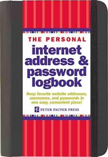 The Personal Internet Address & Password Logbook