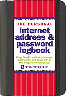 The Personal Internet Address & Password Log Book (1441303251) | Amazon Products