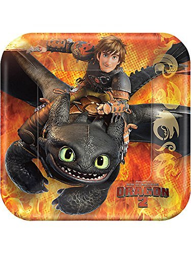 How to Train Your Dragon 2 Square Plate, 7
