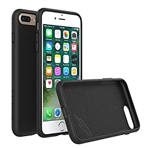 iPhone 7 Plus Case, RhinoShield [PlayProof] Heavy Duty Shock Absorbent [High Durability] Scratch Resistant. Ultra Thin. 11ft Drop Protection Rugged Cover - Black