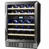 NewAir 46 Bottle Dual Zone Compressor Wine Cooler