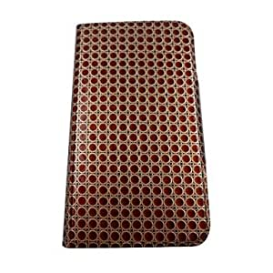LZX Golden Wavelet Point Stereo Wave Pretty Pattern PU Leather Full Body Case with Stand for Samsung Galaxy Grand I9080/I9082