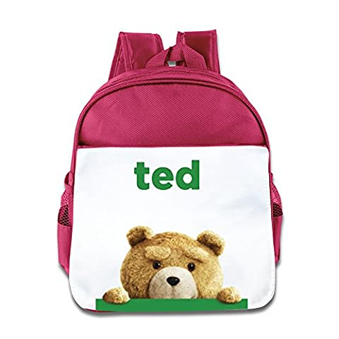 2015 Funny Movie Ted 2 Kids Backpack Boys Girls School Bag(two Colors:pink Blue) Pink (Tennis Big Time Rush)