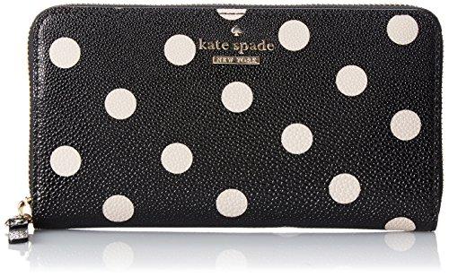 Kate Spade New York Cedar Street Dot Lacey Clutch Black/Deco Beige One Size