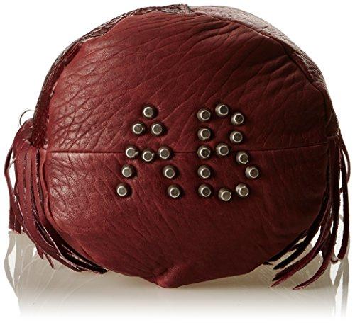 Rouge Sally Bross Bordeaux Unique Taille Porté Aridza épaule Sac aBXqB5w