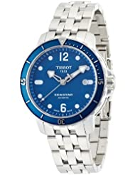 Tissot Mens T066.407.11.047.00 Blue Dial Seastar Watch