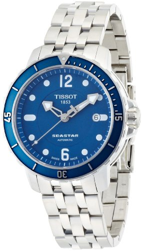 Tissot Men's T066.407.11.047.00 Blue Dial Seastar Watch