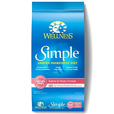 Wellness Simple Natural Limited Ingredient Dry Dog Food Salmon & Potato