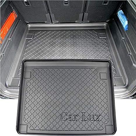 /tappeto protettivo a vaschetta per bagagliaio con bordo alto car lux ar05087/