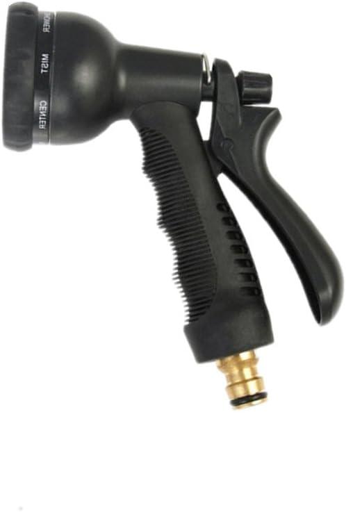 Pistola Manguera, Manguera de Jardín puede reemplazar la boquilla, con 8 Pistola de Riego?con accesorios de latón macizo: Amazon.es: Jardín