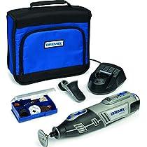 Dremel 8200-1/35 - Multiherramienta (10,8 V, 1 complemento, 35 accesorios, con batería Li-ion)