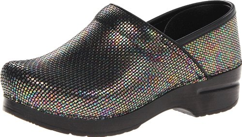 Dansko Women's Professional Mule, Multi Embo, 40 M EU / 9.5-10 B(M) US Embossed Print Clogs