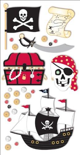 - Sandylion Pirate Adventure Essentials Sticker, Large