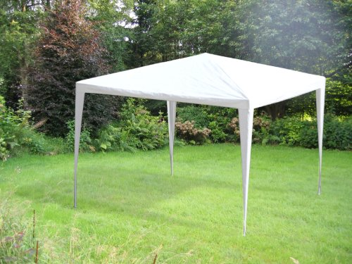 GAZEBO TIENDA CARPA PABELLON PERGOLA BLANCO 3x3M: Amazon.es ...