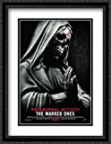 Paranormal Activity The Marked Ones 28x36 Double Matted Large Black Ornate Framed Movie Poster Art Print