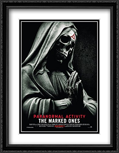 Paranormal Activity The Marked Ones 28x36 Double Matted Large Black Ornate Framed Movie Poster Art Print by ArtDirect