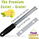 AUTOMATIC CHEESE SHREDDER GRATER & CITRUS LEMON ZESTER - Vegetable Chopper Bundle, Nutmeg Grater - Stainless Steel Blade, Mini Spiralizer Attachment, Best Food Grater