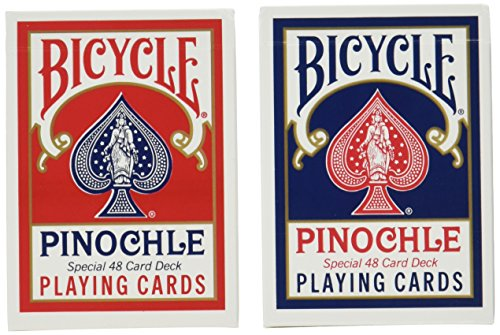 12 Decks Bicycle Pinochle Cards