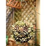 VANKOA-3-Pieces-Metal-Ball-Flower-Wreath-Frames-Wreath-Frame-for-Christmas-Party-Decor-15cm6inch