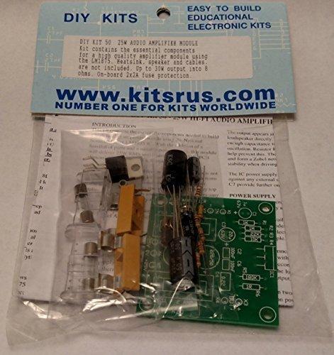 25W Amplifier Module LM1875 (Kit)