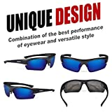 Duduma Polarized Designer Fashion Sports Sunglasses