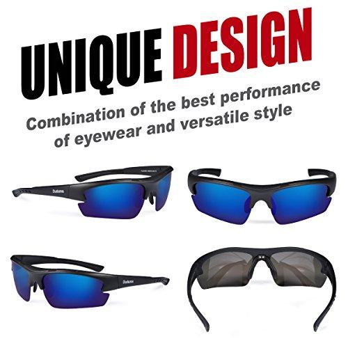 Duduma Polarized Designer Fashion Sports Sungla...