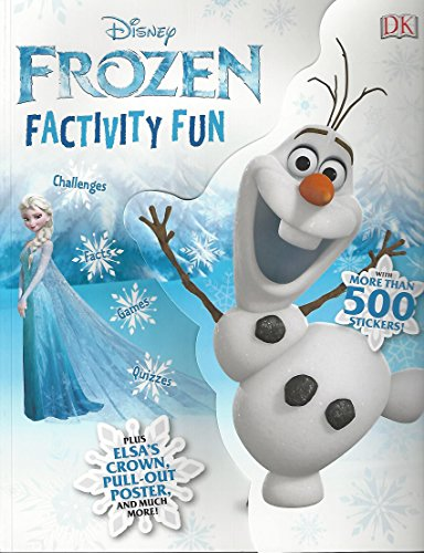 Disney Frozen Factivity Fun Readerlink