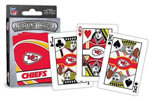 MasterPieces NFL Kansas City Chiefs Playing Cards ()