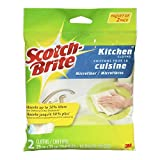 Scotch-Brite Microfiber Kitchen Cloths, 2 cloths per pack