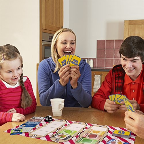 Sub Shop Board Game | Classic Sandwich Building Card Game for Families | Family Fun Tabletop Strateg - http://coolthings.us