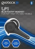 Gioteck LP-1 Bluetooth Chat Headset (PS4) - Black