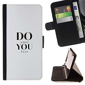 Momo Phone Case / Flip Funda de Cuero Case Cover - Fa quello che ami - Sony Xperia Z2 D6502