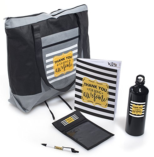 Employee Appreciation Thank You for Being Awesome 5 Piece Gift Set -