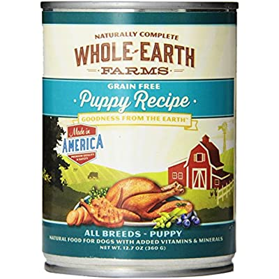 Merrick Whole Earth Farms Grain-Free Puppy - 12 x 12.7 oz